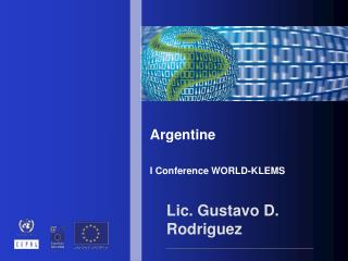 Argentin e I Conferenc e  WORLD-KLEMS