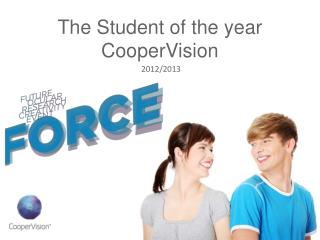 The Student of the year CooperVision