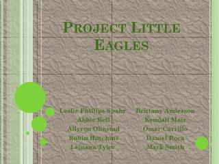Project Little Eagles