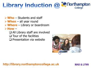 Library Induction @