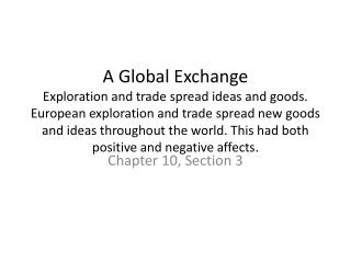 Chapter 10, Section 3