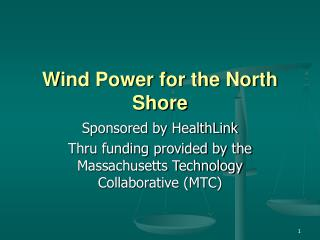 Wind Power for the North Shore