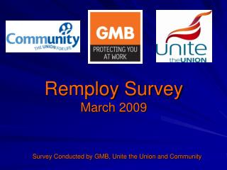 Remploy Survey March 2009