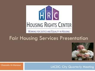 Fair Housing Services Presentation