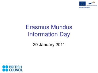 Erasmus Mundus  Information Day