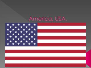 America, USA.