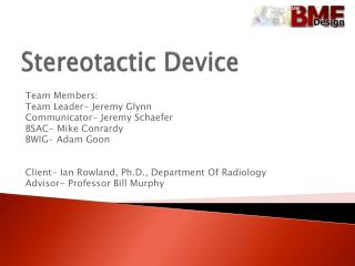 Stereotactic Device