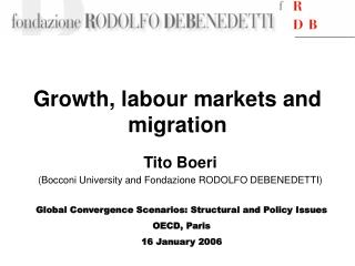 Growth, labour markets and migration