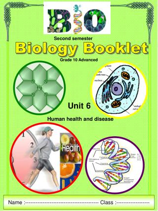 Biology Booklet