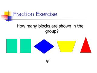 Fraction Exercise