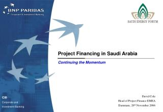 Project Financing in Saudi Arabia