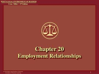 Chapter 20 Employment Relationships