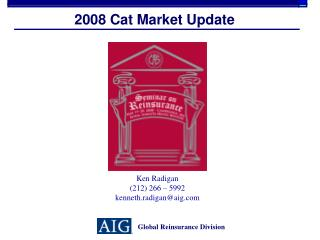 2008 Cat Market Update