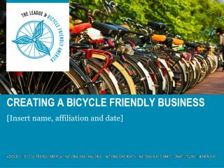 Creating a bicycle friendly business