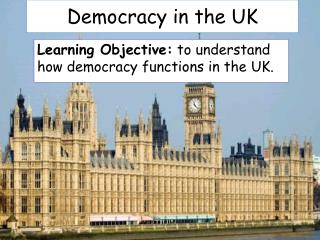 Democracy in the UK