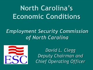 North Carolina's Economic Conditions