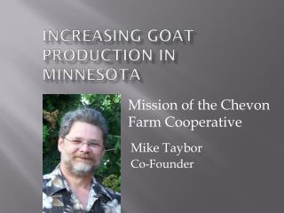 Increasing Goat Production in Minnesota