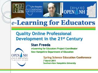 e - Learning for Educators