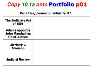 Copy 10.1a onto Portfolio p01