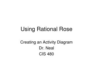 Using Rational Rose