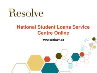 National Student Loans Service Centre Online canlearn