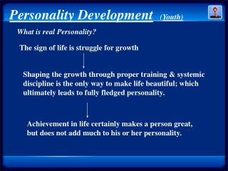 Personality Development ( Youth)