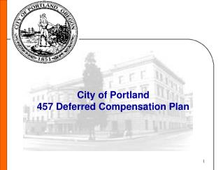 City of Portland 457 Deferred Compensation Plan