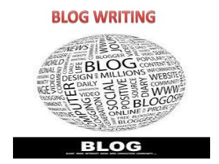 Blog Writing By GOIGI