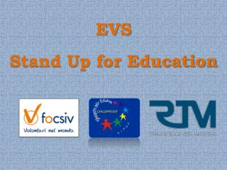 EVS Stand Up for Education
