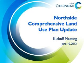 Northside Comprehensive Land Use Plan Update