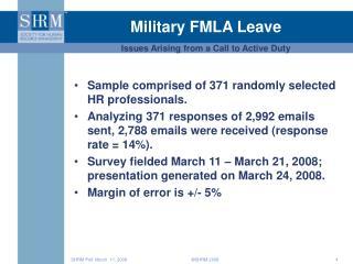 Military FMLA Leave