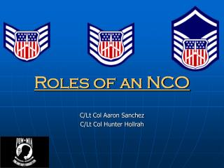 Roles of an NCO