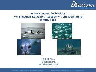 Active Acoustic Technology For Biological Detection, Assessment, and Monitoring  at MHK Sites