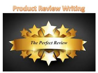 Product Review Writing By GOIGI