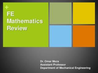 FE Mathematics Review
