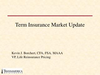Term Insurance Market Update