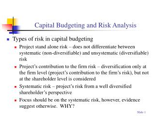 project on capital budgeting download