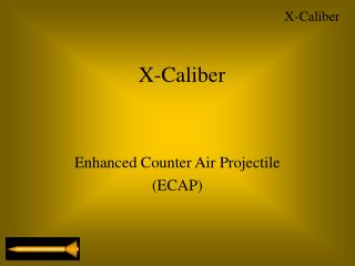 Enhanced Counter Air Projectile (ECAP)