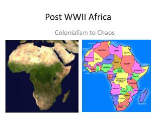 Post WWII Africa