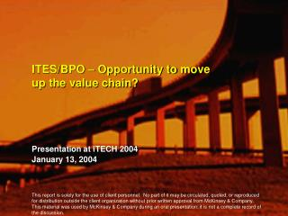 ITES/BPO – Opportunity to move up the value chain?