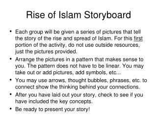 Rise of Islam Storyboard