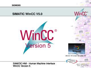SIMATIC WinCC V5.0