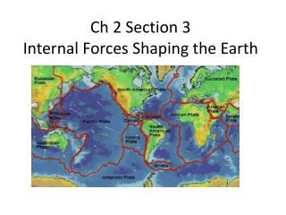 Ch 2 Section 3 Internal Forces Shaping the Earth