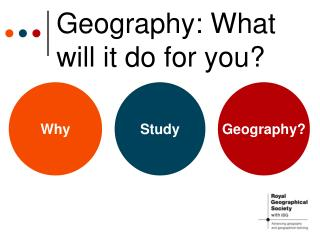 Geography: What will it do for you?