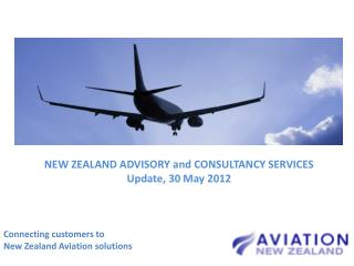 Connecting customers to  New Zealand Aviation solutions