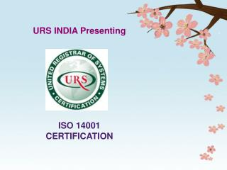 ISO 14001 CERTIFICATION - EMS - URSINDIA