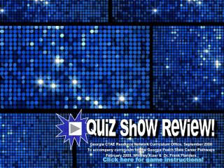 Quiz Show Review!