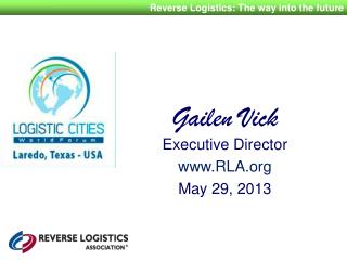 Gailen Vick Executive  Director RLA May 29, 2013