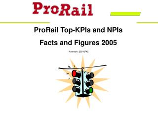 ProRail Top-KPIs and NPIs Facts and Figures 2005 Kenmerk: 20543742