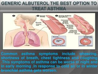 Generic Albuterol